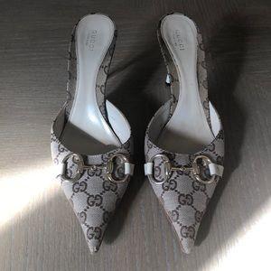 Gucci Kitten Sandals